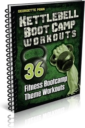Ebook cover: Kettlebell Boot Camp Workout