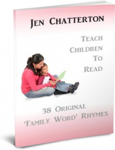 Ebook cover: 38 Original 'Family Word' Rhymes