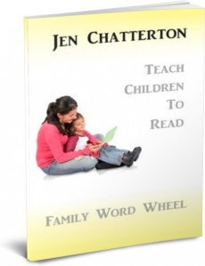 Ebook cover: Family Word Wheel