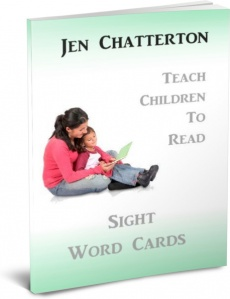 Ebook cover: Sight Word Cards