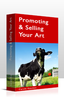 Ebook cover: Promoting & Selling Your Art