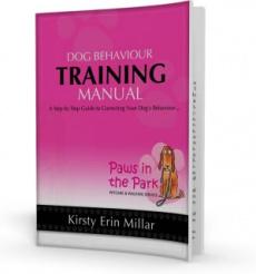 Ebook cover: Dog Behaviour Training Manual