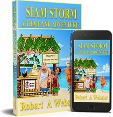 Ebook cover: Siam Storm
