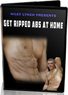 Ebook cover: Get Ripped Abs At Home