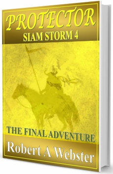 Ebook cover: Protector - Siam Storm 4