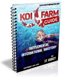 Ebook cover: Koi Farm Guide