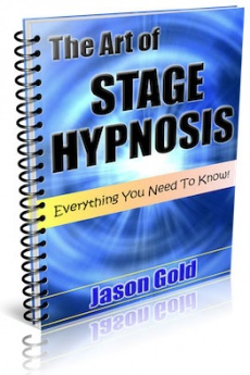 Ebook cover: The Art of Stage Hypnosis