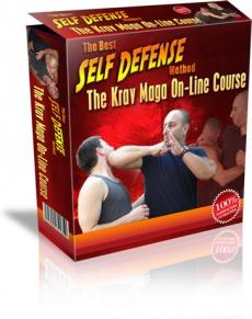 Ebook cover: Krav Maga on-line course