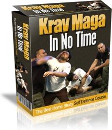 Ebook cover: Krav Maga In No Time