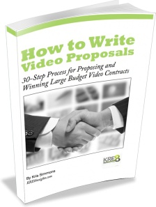 Ebook cover: How To Write Video Proposals