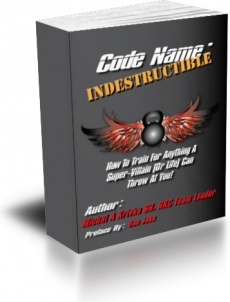 Ebook cover: Code name: Indestructible