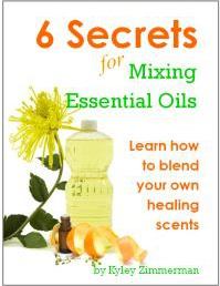 Ebook cover: 6 Secrets for Mixing Essential Oils