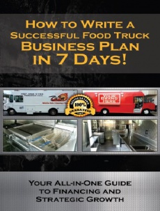 Ebook cover: How To Write A Successful Food Truck Business Plan
