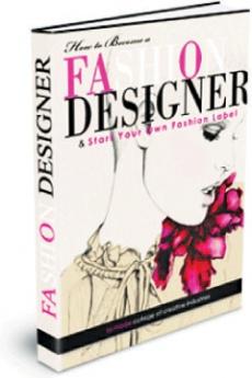 Ebook cover: How to Become a Fashion Designer