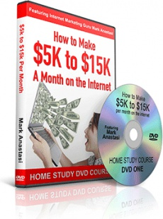 Ebook cover: How to Make $5K to $15K A Month on the Internet