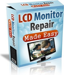 Ebook cover: LCD Monitor Repair Made Easy