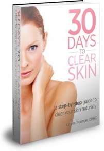 Ebook cover: 30 Days to Clear Skin