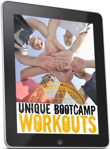 Ebook cover: Unique Bootcamp Workouts