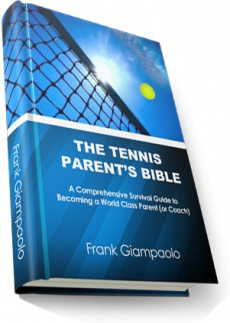 Ebook cover: The Tennis Parents Bible