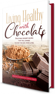 Ebook cover: Living Healthy With Chocolate