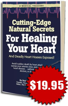 Ebook cover: Cutting-Edge Natural Secrets For Healing Your Heart