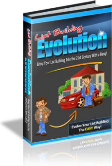 Ebook cover: List Building Evolution
