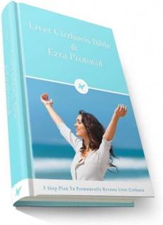 Ebook cover: The Liver Cirrhosis Bible & Ezra Protocol
