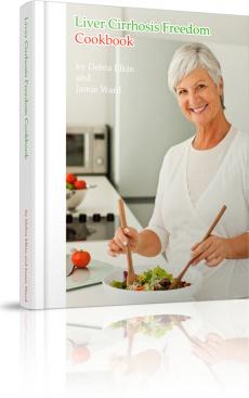 Ebook cover: Liver Cirrhosis Cookbook
