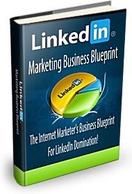 Ebook cover: Linkedin Marketing Business Blueprint