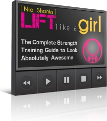 Ebook cover: The Lift Like a Girl
