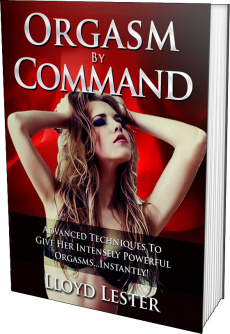 Ebook cover: Orgasm By Command