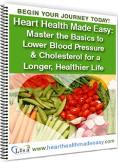Ebook cover: Heart Health Made Easy: How to Lower Blood Pressure & Cholesterol