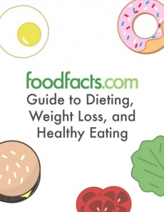 Ebook cover: Food Facts Guide to Dieting, Weight Loss, and Healthy Eating