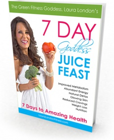 Ebook cover: 7-Day Goddess Juice Feast Plan