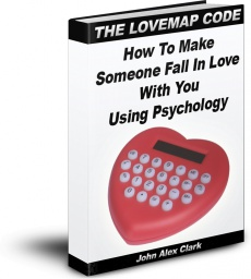 Ebook cover: THE LOVEMAP CODE: How To Make Someone Fall In Love With You Using Psychology