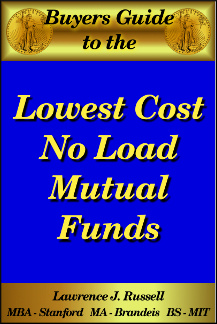Ebook cover: Low Cost Mutual Funds and ETFs