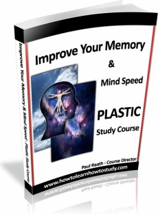 Ebook cover: Improve Your Memory & Mind Speed