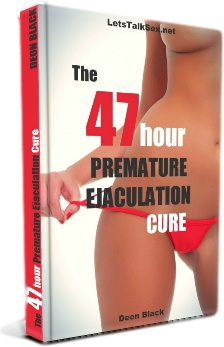 Ebook cover: The 47 Hour Premature Ejaculation Cure