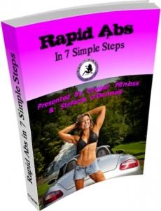 Ebook cover: Rapid Abs in 7 Simple Steps