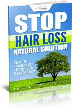 Ebook cover: Hair Loss Natural Solution