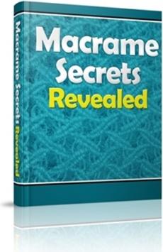 Ebook cover: Macrame Secrets Revealed