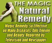 Ebook cover: The Magic Natural Remedy