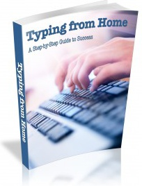 Ebook cover: Typing From Home