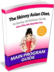Ebook cover: The Skinny Asian Diet