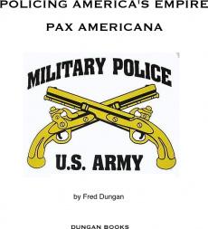 Ebook cover: Policing America's Empire - Pax Americana