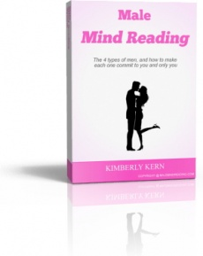 Ebook cover: The Male Mind Reading System