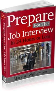 Ebook cover: Prepare For The Job Interview