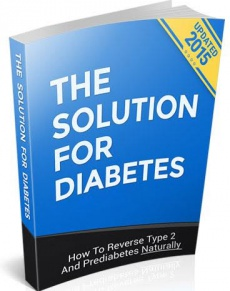 Ebook cover: The Solution For Diabetes