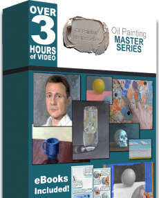 Ebook cover: Oil Painting Master Series