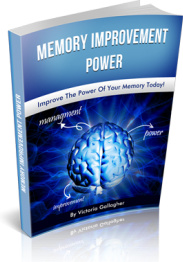 Ebook cover: Memory Improvement Power